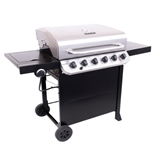 BBQ CHAR-BROIL 6 BURNER W/ CART