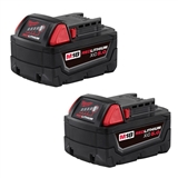 MILWAUKEE M18 5.0AH XC 2PK BATTERIES