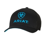 CAP MEN ARIAT BRN/BLU-S/M