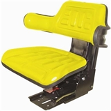 YELLOW TRACTOR SEAT