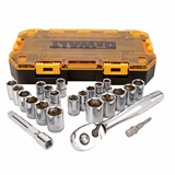 23 PIECE 1/2 IN DRIVE COMBINATION SOCKET SET