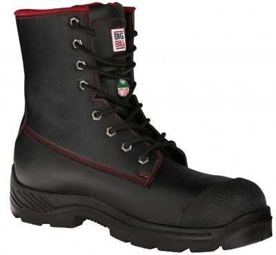 "Mens Splash Resistant Big Red 8"" Work Boot"