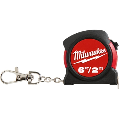 TAPE MEASURE KEYCHAIN MILWAUKE