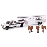 PICKUP & HORSE TRAILER 32 FORD