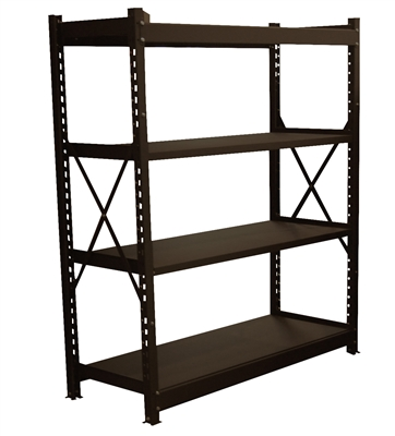 4' INDUSTRIAL STEEL SHELF