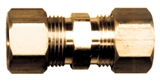 "BRASS COMPRESSION UNION 3/8"" TUBE"