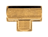 BRASS FEMALE PIPE TEE 1/8 FPT