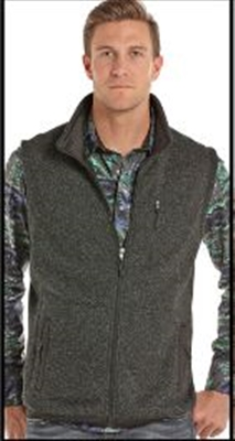 MENS FLEECE ZIPPER VEST