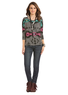 WOMENS AZTEC SHIRT