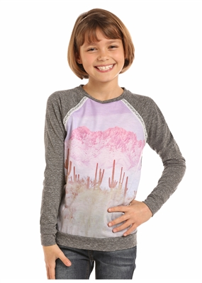 LONG SLEEVE READY TO RODEO KIDS SHIRT