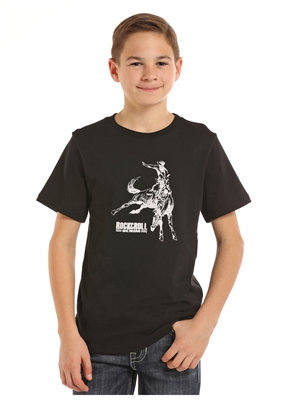 YOUTH BUCKING HORSE SHIRT