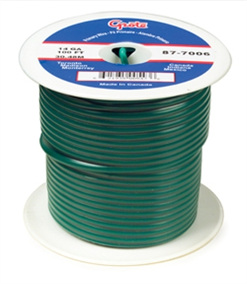 AUTO WIRE 14GA. GREEN  25' SPOOL
