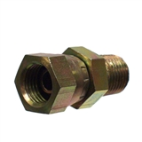 "Hydraulic Adapter 1/2"" Male x 1/2"" Female Pipe Swivel Restricted"