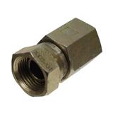 "HYDRAULIC ADAPTER 1/2"" FEMALE X 3/8"" FEMALE PIPE SWIVEL"