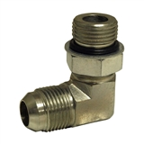 "Hydraulic Adapter 1/2"" Male Jic x 1/2"" Male O-Ring 90-Degree"