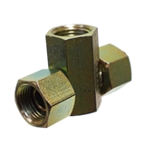 "Hydraulic Adapter 1/2"" Female Pipe x 1/2"" Female Pipe Swivel x 1/2"" Female Pipe Swivel"