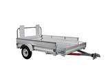 TRAILER 5'x7' Galv EXPAND 8'6""