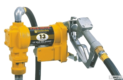 Fill-Rite Pump with Hose and Manual Nozzle