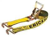 "2"" X 27' HEAVY DUTY TIE-DOWN RATCHET STRAP"