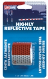 "Tape Reflective Red/Silver 1.5"" x 4'"