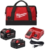 STARTER KIT M18 BATT 9 5AH BAG