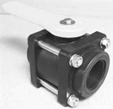 "NORWESCO 2"" POLY BOLTED BALL VALVE"