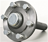 "1 3/4"" X 12"" #4000 6 ON 6 HUB/SPINDLE ASSEMBLY"