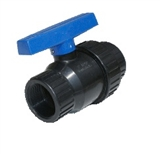 "NORWESCO 1/2"" SINGLE UNION BALL VALVE"