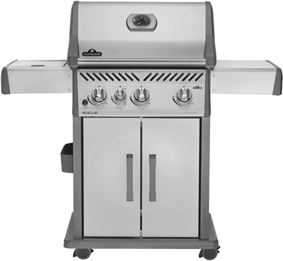 NAPOLEON ROGUE 425 LP SIDE BURNER GRILL
