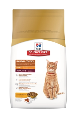 15.5LB SCIENCE DIET HAIRBALL CONTROL CAT FOOD