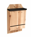 TRIPLE CHAMBER CEDAR BAT HOUSE