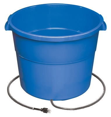 130W BLUE HEATED BUCKET