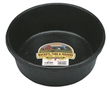 4 QUART RUBBER FEED PAN