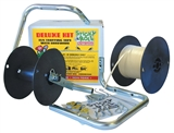 1000' STICKY ROLL FLY TAPE DELUXE KIT WITH HARDWARE