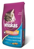9.1KG WHISKAS SEAFOOD SELECTIONS CAT FOOD