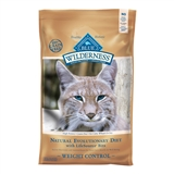 2.72KG BLUE BUFFALO WILDERNESS WEIGHT CONTROL CAT FOOD