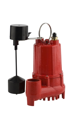1/3HP CAST IRON SUBMERSIBLE SUMP PUMP
