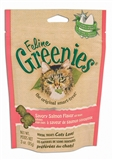 FELINE GREENIES 2.5OZ SAVORY SALMON DENTAL TREATS