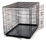 GIANT DOUBLE DOOR KENNEL CRATE