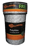 400M GALLAGHER POLY WIRE