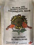 BLACK OIL SUNFLOWER SEED 25LB