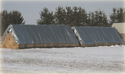33' X 48' BALE COVER WITH LOOP SYSTEM