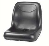 HIGH BACK BLACK TRACTOR SEAT