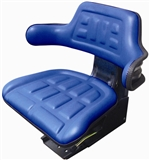 BLUE TRACTOR SEAT