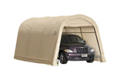 10'x15' AUTO SHED - TAN COVER