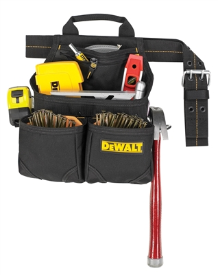 DEWALT 6 POCKET NAIL AND TOOL BAG