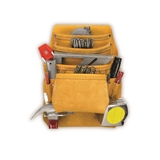 10 POCKET KUNY CARPENTER'S NAIL & TOOL BAG