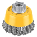 DEWALT KNOTTED CUP BRUSH