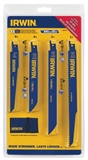 IRWIN 11 PIECE RECIPROCATING SAW BLADE KIT