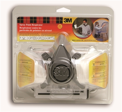 3M SPRAY PAINT RESPIRATOR